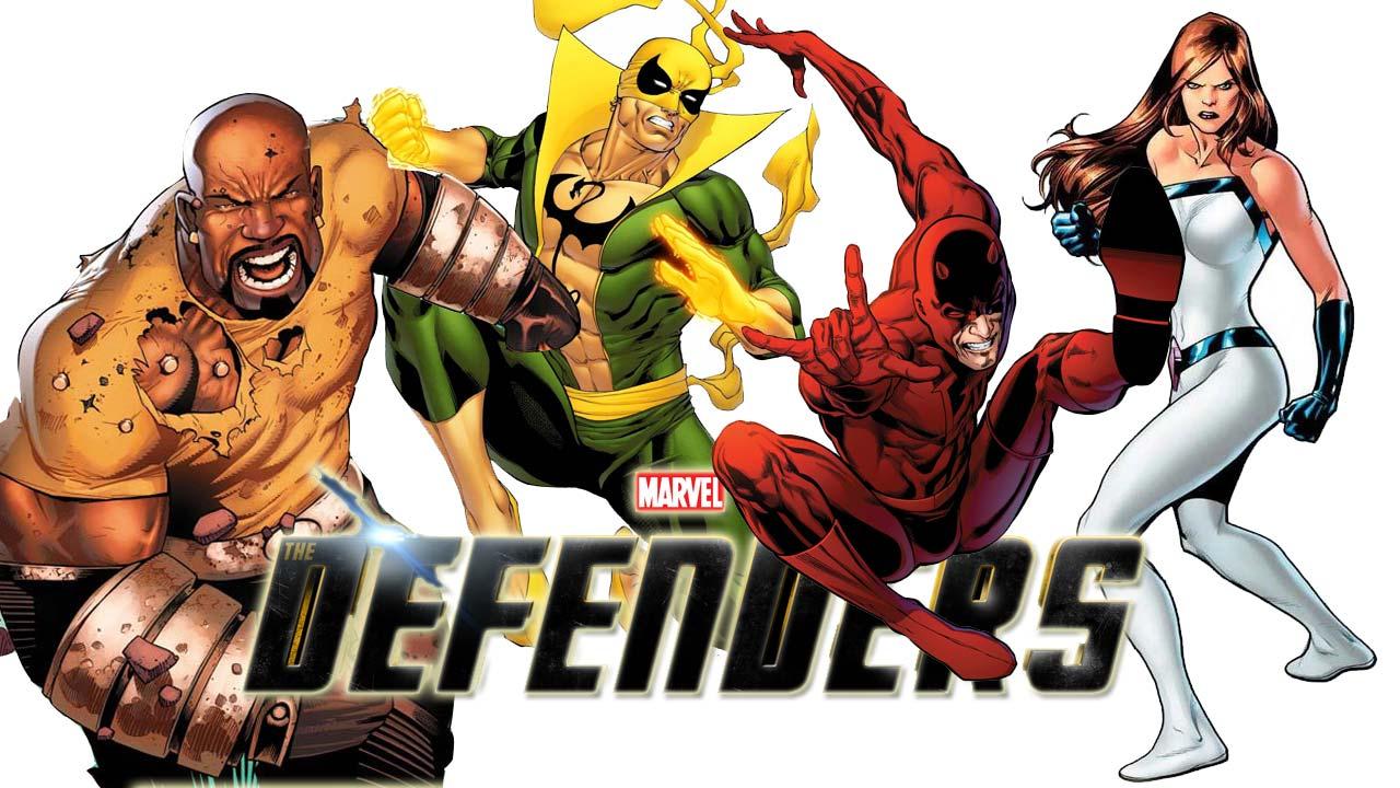 marvel's defenders illustraion